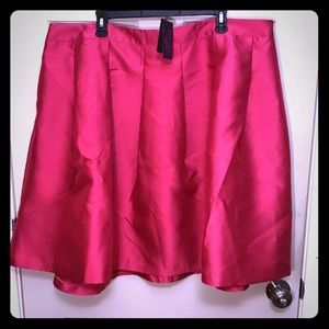 🎀NWT🎀 Lane Bryant Hot Pink Stretch Circle Skirt